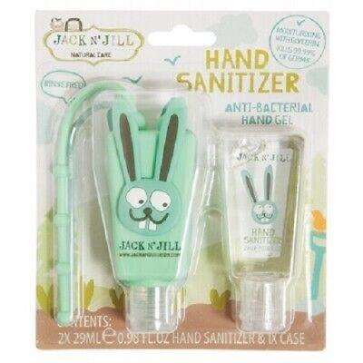 JACK N' JILL Hand Sanitizer & Holder 29ml (3 Animals Available)