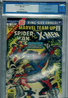 MARVEL TEAM-UP Annual #1 (1976) CGC 7.5 OW - not CBCS PGX