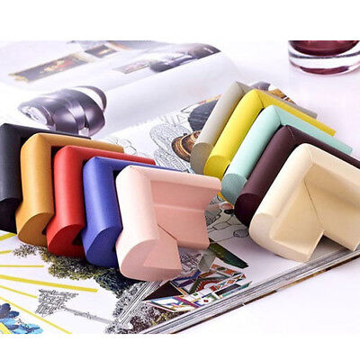 8 x BABY CHILD SAFETY CORNER CUSHION TABLE EDGE COVER PROTECTOR PROTECTION GUARD