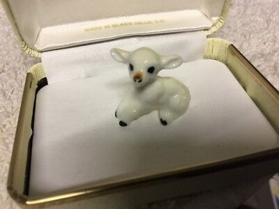 Vtg Bone China Miniature Baby Lamb Sheep Figure