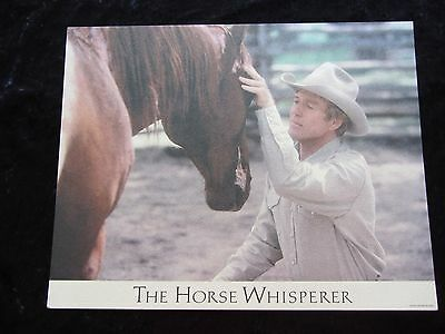 THE HORSE WHISPERER lobby card # 4 ROBERT REDFORD