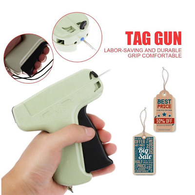 New Price Label Tagging Clothes Garment Tag Gun   1000 Barbs   5 Needl MDR