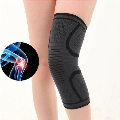 Knee Brace Support Strap Patella Compression Protector Running Sleeve Sports HU