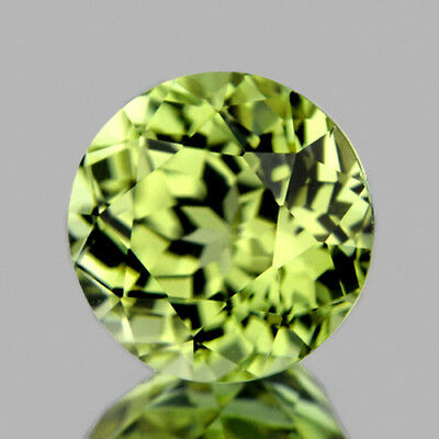7.8mm ROUND 2.15CT RARE COLOR CHANGE GOLDEN GREEN DIASPORE NATURAL GEMSTONE [IF]