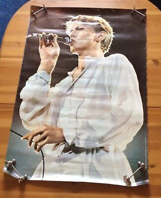 Original 1981 David Bowie Poster - Anabas Products