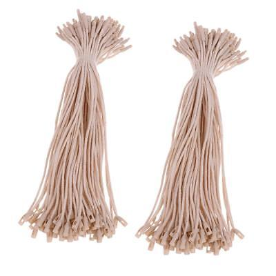 Pack of 200 Eco-friendly PE Tag Pin Bullet Fasteners for Shops 20cm Beige