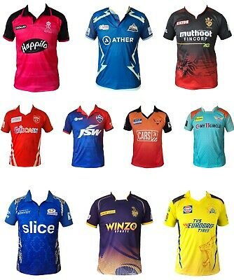 IPL Cricket 2018 Jersey's / Shirt, T20, Cricket India, Australia