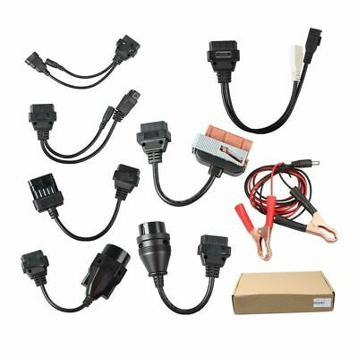 Kit 8 Cables Obd2 Coches Para Equipos De Diagnosis / Universal / Full Cables
