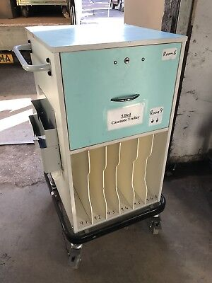 5 Bed Case Note Trolly Medical Hospital