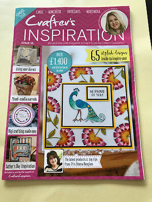 Crafters Inspiration Magazine Issue 18 From Crafters Companion And Sara Davies