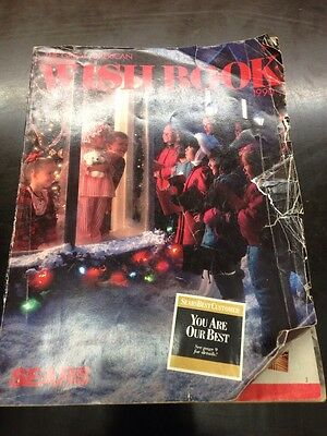 1990 The Great American Sears Wishbook Vintage Catalog