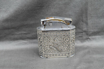 ANCIEN BRIQUET DE TABLE MYON 401 GEANT INDOCHINE Fuel Lighter Feuerzeug