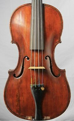 Interesting old antique 4/4 Violin Tyrolean labeled Joannes Maria Valenzano
