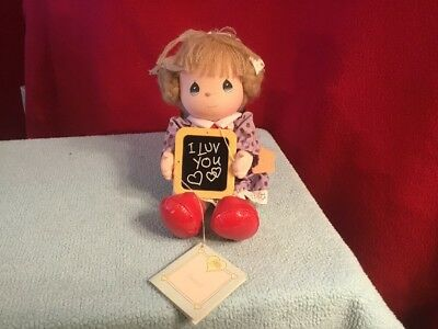 Vintage Precious Moments Doll 1987 I Love You Limited Edition Applause MWT