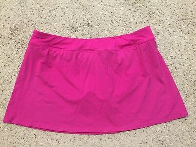 5ceb4a250b LANDS END SIZE 18 PINK SWIMSUIT BOTTOMS swim bikini SKIRT E88 ...