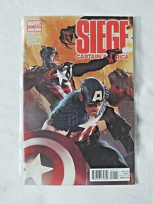 Siege One-Shot: Captain America #1 | Christos Gage | Marvel Comics 2010 (VFN/NM)