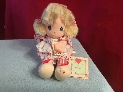Precious moments Rejoice Musical Christmas Doll