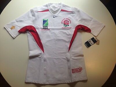 Limited Edition Embroidered 2003 Rugby World Cup Winning England Rugby Shirt