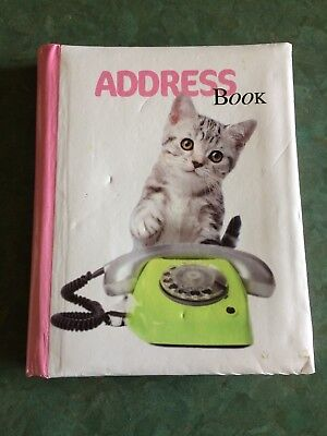 Address Book featuring Kittens