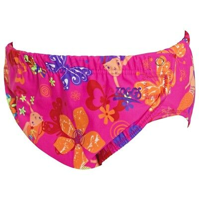 Zoggs Adjustable Swim Nappy  3 - 24 Months Pink, Baby Swimwear Swimwear