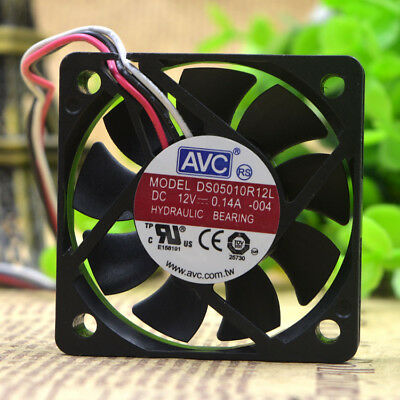 1PC new AVC free shipping 5CM 5010 12V 0.14A DS05010R12L