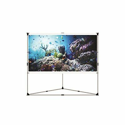 Portable Outdoor Projector Screen, 100'' -inch