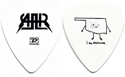 All American Rejects Nick Wheeler authentic 2006 tour Oklahoma band Guitar Pick