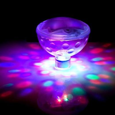 1*LED Floating Underwater  Disco Light Glow Show Swimming Pool Hot Tub Sp Gift