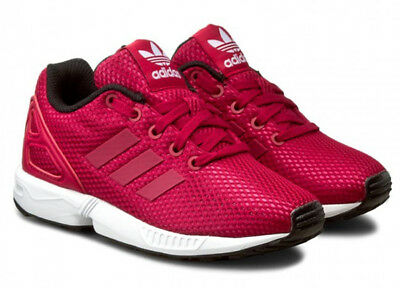 6afea0ab635aa ... australia uk size kids 11.5 adidas originals zx flux torsion trainers  rouge 251e7 83cfa ...