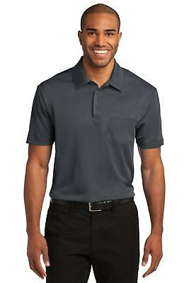 0e5759f5664 Port Authority Golf Shirt K540P Mens Silk Touch Performance Pocket Polo NEW