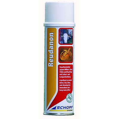Schopf Reudanon Repellent Spray gegen Ungeziefer am Tier BIO-Konform, 400 ml
