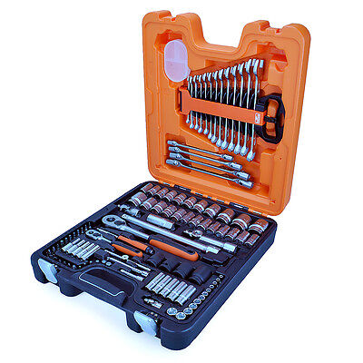 "BAHCO S106 Socket & Spanner Set 1/4"" & 1/2"" 106 Piece Set"