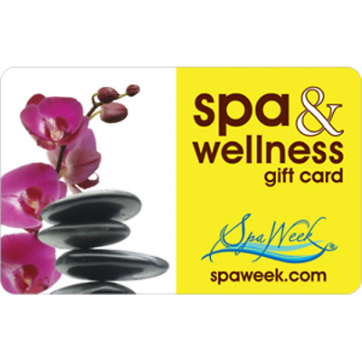 Spa Week Gift Card $25 Value, Only $20.00! Free Shipping!