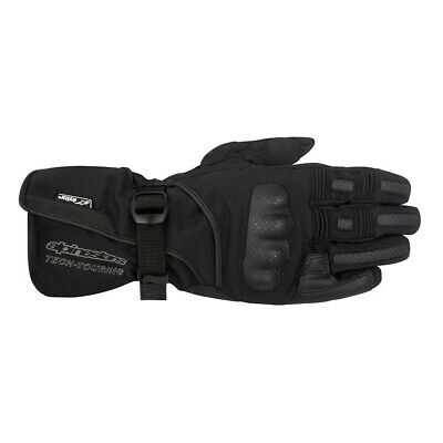 Alpinestars Apex Drystar Black Waterproof Motorcycle Gloves