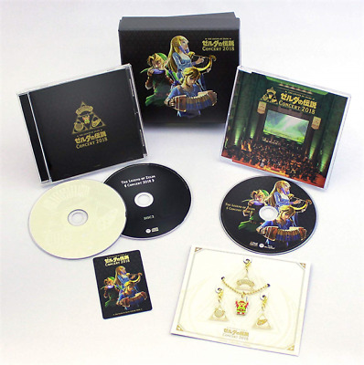 THE LEGEND OF ZELDA CONCERT 2018 Limited Edition 2CD + BLU-RAY JAPAN Tracking