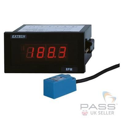 *NEW* Extech 461950 Panel Mount Tachometer - 5RPM to 99,990RPM / UK Stock