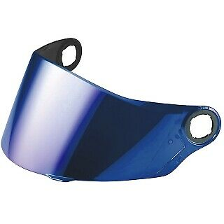 Blue Iridium Helmet Visors / Shields for LS2 FF322