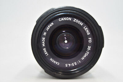 Canon Zoom Lens FD 35-70mm f/3.5-4.5