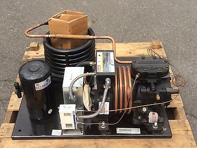 Copeland: NEW 2HP Water Cooled Low Temp Condensing Unit (208/230-1)