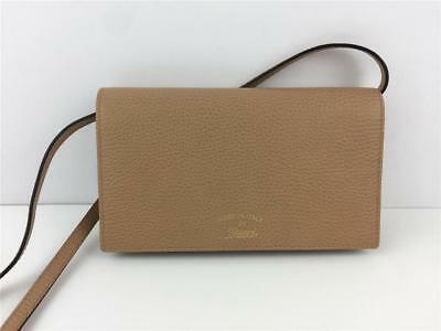 46fd7d63485 NEW GUCCI 368231 Leather Swing Wallet Crossbody Camel -  375.00 ...