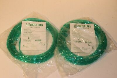 SALTER LABS GREEN OXYGEN TUBING With 2 Standard Connectors REF 2025G  25'