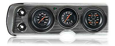 1964 - 1965 Chevy Chevelle Direct Fit Gauge Velocity Black CV64VSB