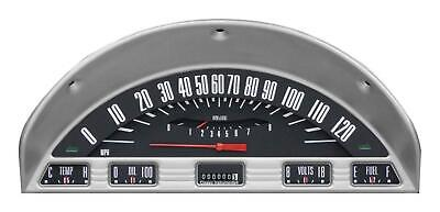 1956 Ford F-100 Direct Fit Gauge Black FT56BT