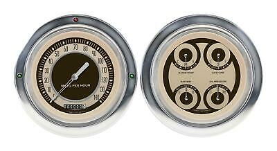 1954-1955 Chevrolet Chevy Truck Direct Fit Gauge Nostalgia CT54NT52