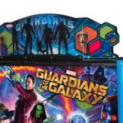 Guardians of the Galaxy Pinball Machine by Stern Topper