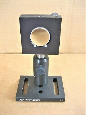 Newport MM2-1A Two Axis Optical Mount with VPH-2 Post and B2 Base