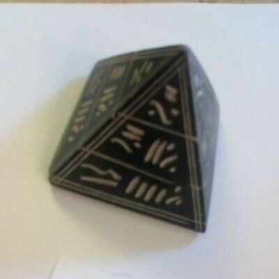 2.5 Inches Tall Egyptian Pyramid Ornament Paperweight
