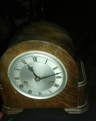 Very Rare  Smith  Old Clock Art Deco  Nice Design Would Look Great In Any House