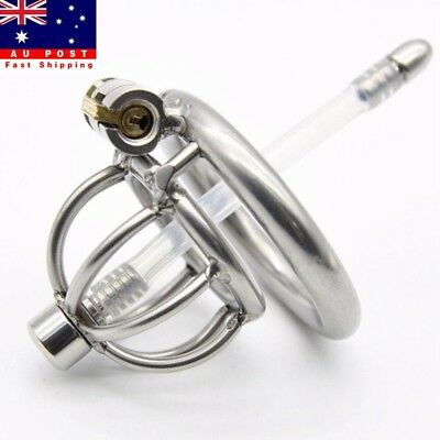 Ring Design Small Male Male Chastity Devices Stainless Steel Bird Cage 45MM AU