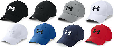 770b7ebf941 UNDER ARMOUR MEN S UA Threadborne Classic Mesh Golf Cap Stretch Flex ...